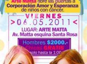 Fiesta a Beneficio en Espacio Arte Matta - 06/05/11