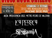 CICLO DE ROCK CHILENO, PHONEBOX PUB - 05/05/11