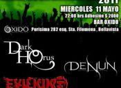 CICLO DE ROCK & METAL CHILENOS, BAR OXIDO -  11/05/2011
