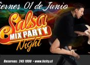 Fiesta Salsa Mix Party Night, Licity Oeste - 01/06/2012