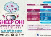 SHEEP OH! ★ FIESTA MASIVA - 02/06/2012