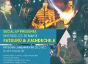 Social Up: Fat Guru y Juandechile en vivo, Centro Cultural Amanda - 30/05/2012