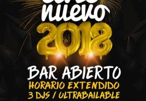 AÑO NUEVO 2018 *Fabrik Valparaíso*