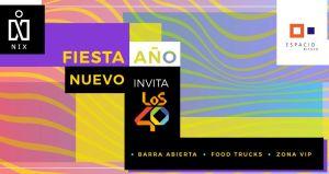 NIX FIESTA AÑO NUEVO EN ESPACIO RIESCO 2018