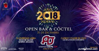 Año Nuevo 2018 en Club Eve