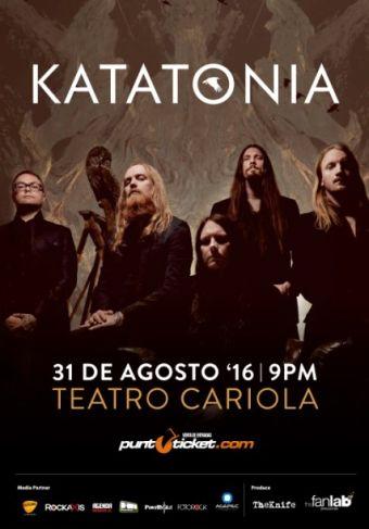 Katatonia en Chile