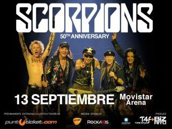 Scorpions en Chile