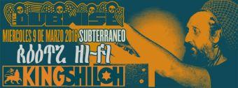 King Shiloh Soundsystem en el Club Subterráneo