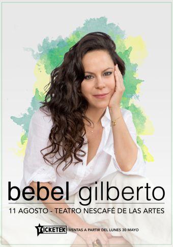 Bebel Gilberto en Teatro Nescafé de las Artes