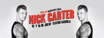 Nick Carter en Chile