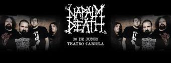 Napalm Death en Chile