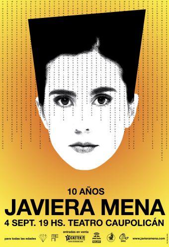 Javiera Mena en Teatro Caupolicán
