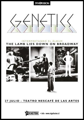 Genetics en Teatro Nescafé de las Artes