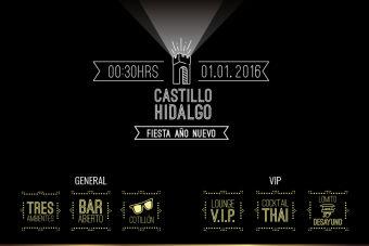Año Nuevo 2016 Castillo Hidalgo