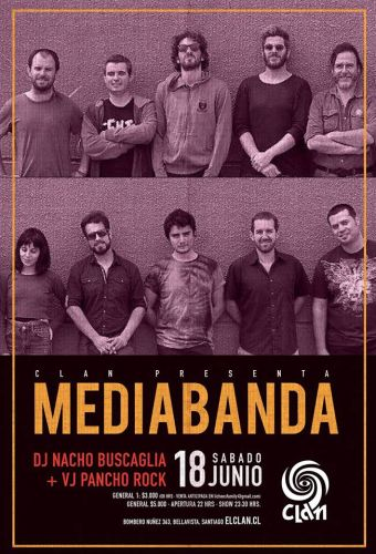 Mediabanda en Bar El Clan