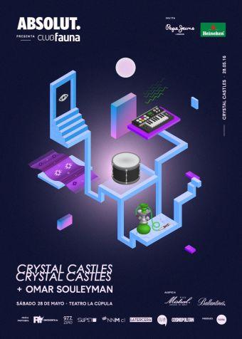 Crystal Castles y Omar Souleyman en Club Fauna