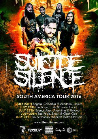 Suicide Silence en Teatro Cariola