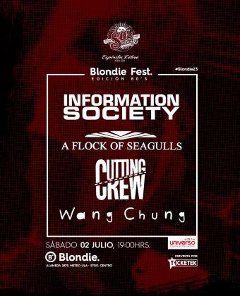 Blondie Fest, edición 80´s