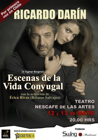 Escenas de la vida conyugal en Teatro Nescafé de las Artes