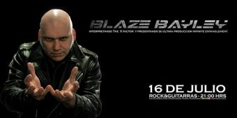 Blaze Bayley en Chile