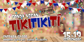 Fonda Vegana Katako Tiki Tiki Tí