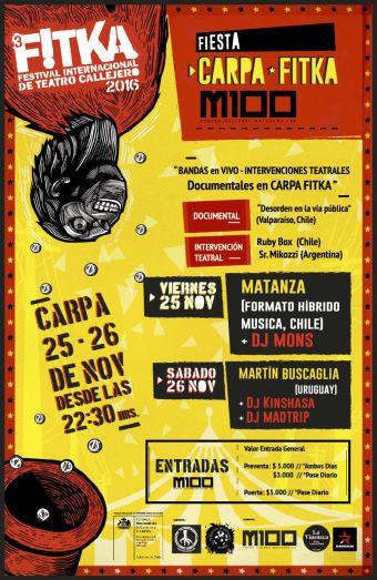 NOCHES DE FITKA: Matanza y Martin Buscaglia en M100