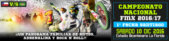 CAMPEONATO NACIONAL DE FREESTYLE MOTOCROSS DE CHILE 2016/17 1RA FECHA (10 DICIEMBRE 2016)
