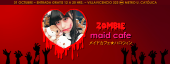 Zombie Maid Cafe - 31/10/2016