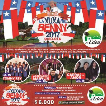 FONDA LA XUXA DEL BENNY 2017