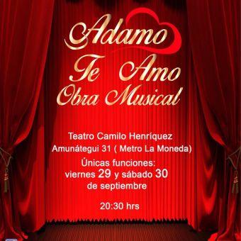 Adamo Te Amo Obra Musical