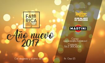 FIESTA AÑO NUEVO 2017 ELEGANTE AL RITMO DE JAZZ