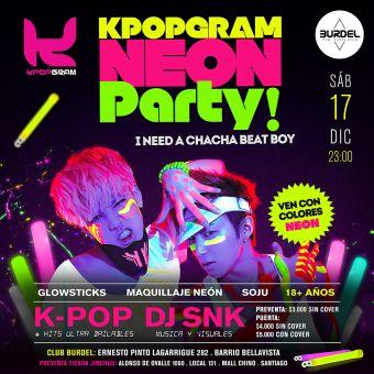 K-POP NEON PARTY! ★★★