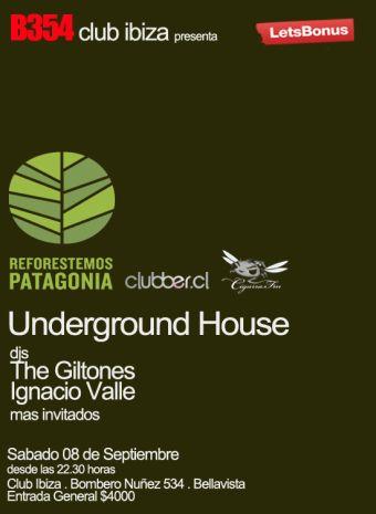 Underground House presenta