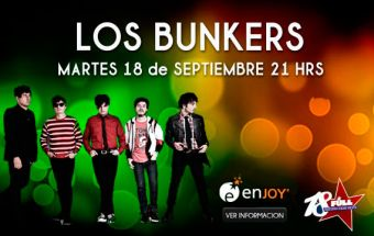 Los Bunkers en Enjoy Coquimbo