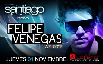 Felipe Venegas @ Santiago Beats