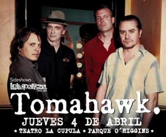 Tomahawk en Chile, Teatro La Cúpula