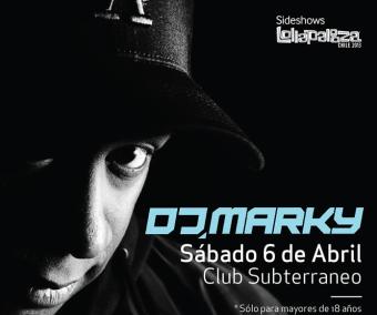 DJ Marky en Chile, Club Subterráneo
