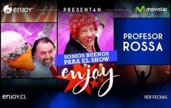 Profesor Rossa en Enjoy Coquimbo