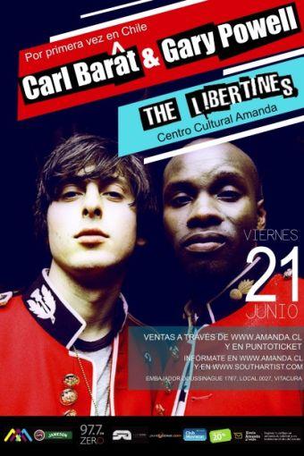 Carl Barat & Gary Powell (The Libertines), en Amanda