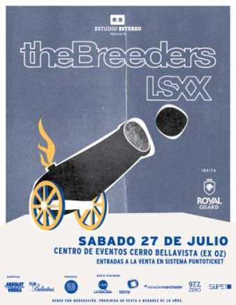 The Breeders en Chile, en Ex Oz
