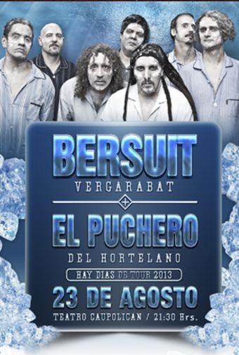 Bersuit Vergarabat y El Puchero del Hortelano en Chile, Teatro Caupolicán