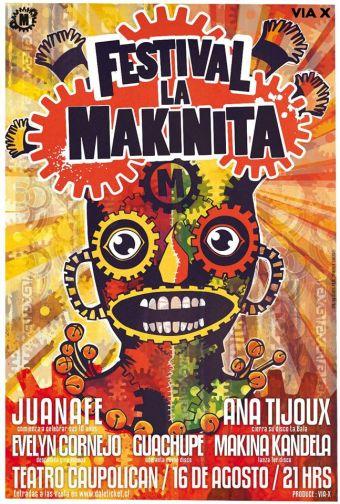 Festival La Makinita en Teatro Caupolicán
