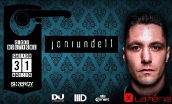 Jon Rundell en Club La Feria
