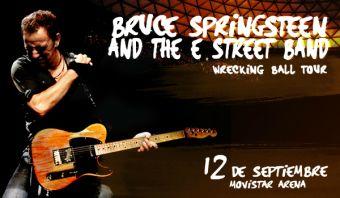 Bruce Springsteen en Chile, Movistar Arena