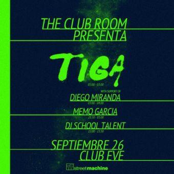 Fiesta junto a Tiga en Club Eve