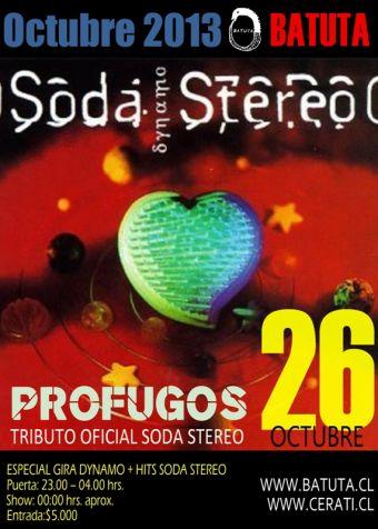 Prófugos + Hits Soda en La Batuta