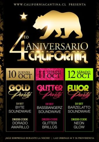 Fiesta Aniversario en California Cantina