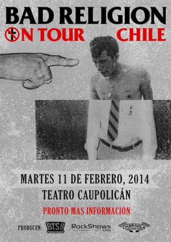 Bad Religion en Chile, Teatro Caupolicán