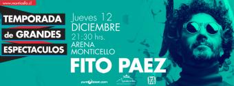 Fito Páez en Chile, Arena Monticello