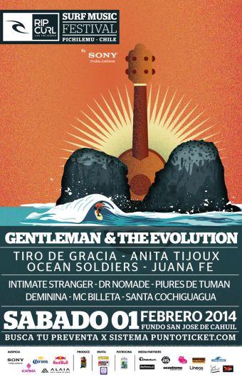 Rip Curl Surf Music Festival en Pichilemu